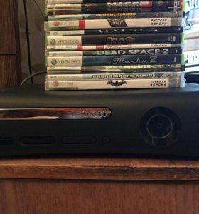 Xbox 360 120Gb LT+3.0, 24 игры