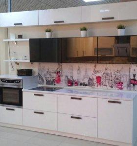 Кухня панель ПВХ глянец