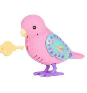 Новая Интерактивная птичка с секретным ключом