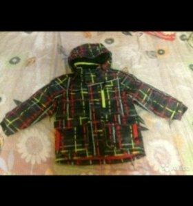 Куртка зимняя на 5 лет