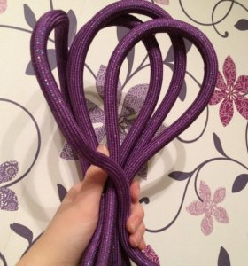 Скакалка Chacott фиолетовая, 3 метра