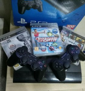 PlayStation 3 super slum 500gb