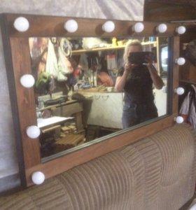 Зеркало гримёрное визажиста