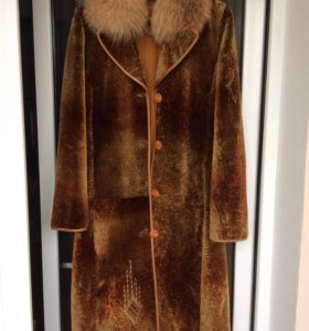 Пальто (натуральный мех, кожа)