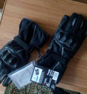 Перчатки байкерские