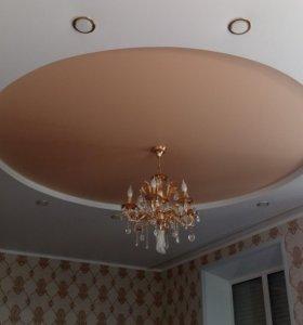 Натяжной потолок.
