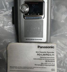 Диктофон кассетный новый