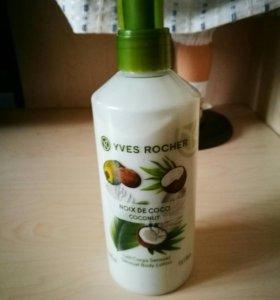 Молочко для тела yves rocher кокосовый орех