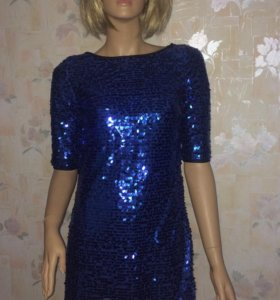 Платье пайетки 42-44р
