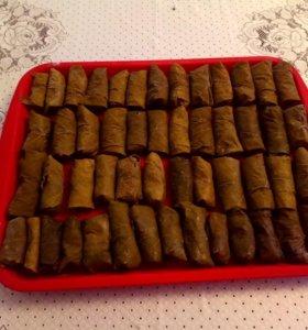 Голубцы с виноградными листьями 1 кг