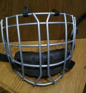Хоккейная маска для шлема