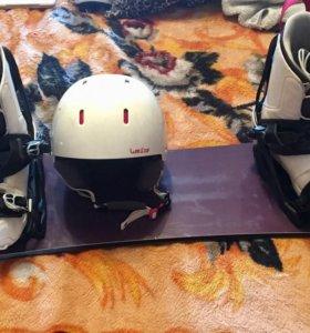 Сноуборд WEDZE (комплект)