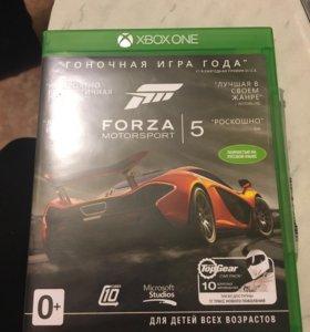Игра на Xbox One(Forza 5)