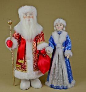 Новогодний подарок Дед Мороз и Снегурочка