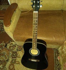 Акустическая гитара+чехол