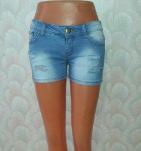 Шорты джинс.