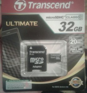 Sd-карта 32GB 10 class