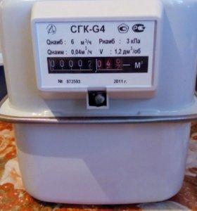 Счётчик газа камерный G 4