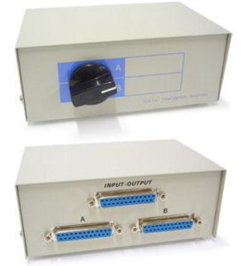 Data switch DB25 (LPT/COM) 2 Device