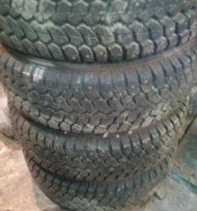 Зимние колёса с дисками.
