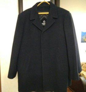 Новое пальто муж шерсть р 56