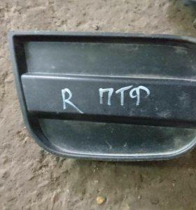 Накладка птф левая Форд рейнджер с 2006 г