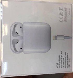Наушники Apple Bluetooth AirPods(MMEF2ZE/A)белые