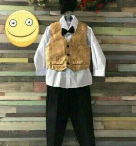 Новый костюм-смокинг