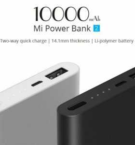 Xiaomi power bank 10000mah (новый)
