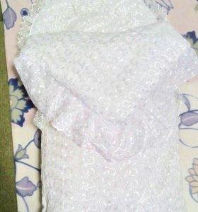 Конверт и одеяло ( зима) на выписку