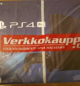 Приставка Sony Playstation 4 PRO 1 tb