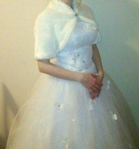 Платье свадебное 42-46