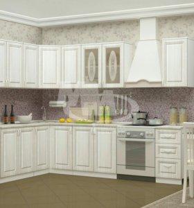 Кухня белая новая