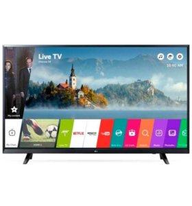 Телевизор LG 43UJ620v 4K Ultra HD дисплей IPS