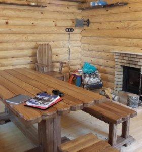 Строительство деревянных домов .