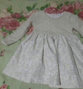 Шикарное платье для девочки miss rose 2-3 г