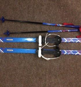 Лыжи 110см