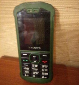 Бронированный телефон Texet TM-509R