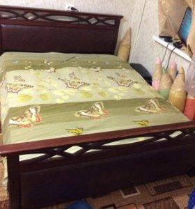 Кровать Фокина натуральный бук