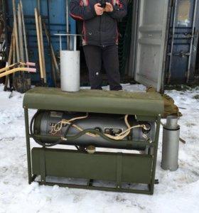 Тепловая пушка дизельная.