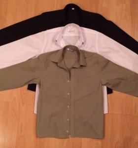Рубашки на подростка (3 шт)