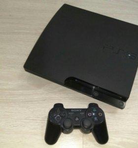 Sony PS3 (320GB) Slim + Диски
