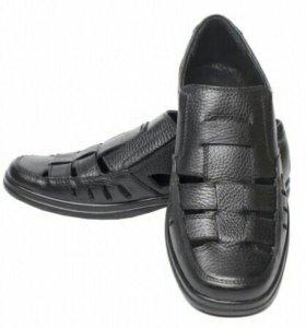Туфли Metro кожаные новые 42р