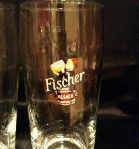 Пивные бокалы Fischer Alsace