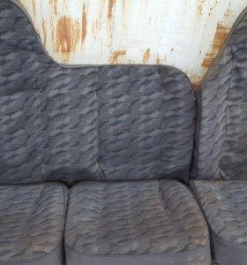 Тройное заднее сиденье - диван на УАЗ буханка