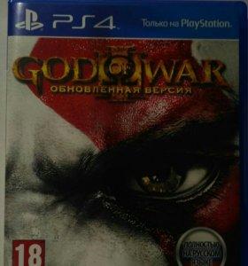 Диск God of War 3, для PS 4