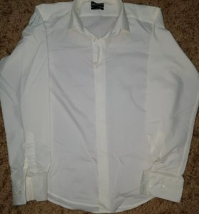 Рубашка кремовая