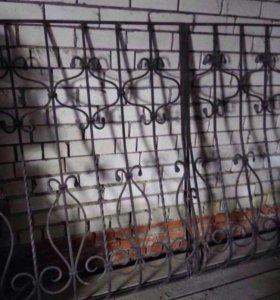 Кованные решётки на окна