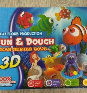 Новый детский пластилин 3D