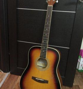 Электроакустическая гитара Colombo + чехол